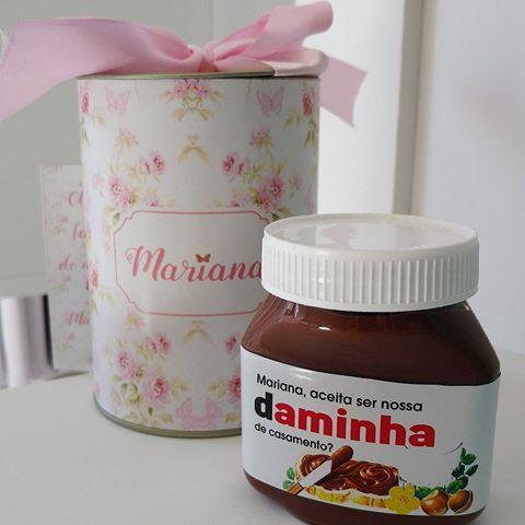 Resultado de imagem para convite de nutella